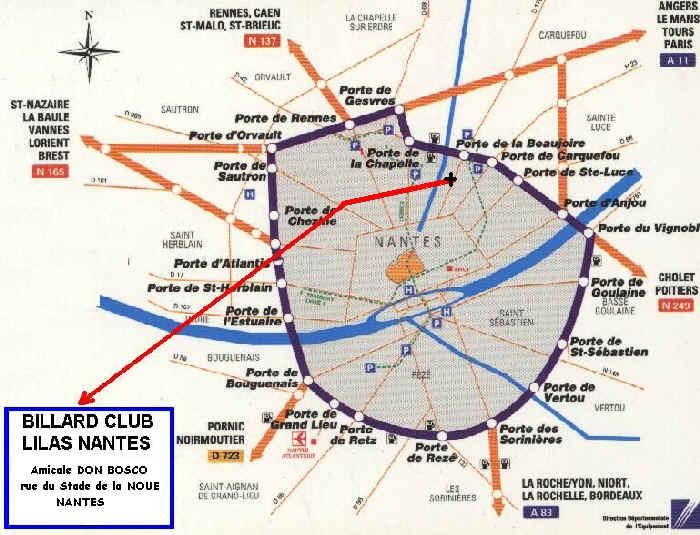 Plan Nantes